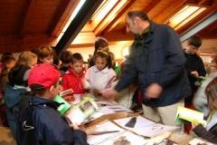 19 aprile 2005 - Mostra itinerante dei nidi e delle tracce di proprietà della Riserva di caccia di Forno di Zoldo, organizzata a Santa Giustina a cura dell'A.C.B.