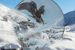 Novembre - Dipinto di Elvio De Pan, sfondo e composizione di Ariondo Schiocchet